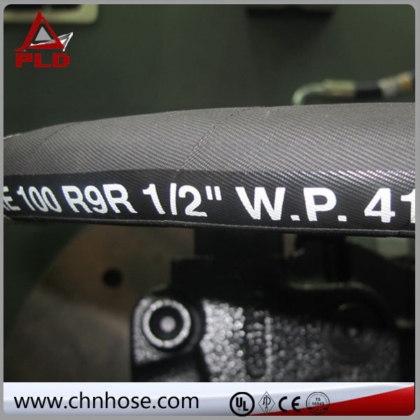 fuels field high pressure hot sale smooth cover 300psi rubber welding hose