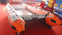 CE 4.3m 6 passengers inflatable catamaran for sale
