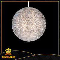LED Luxury decorative crystal chandelier projection light
