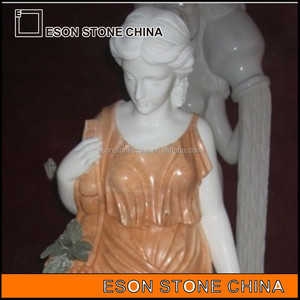 Eson Stone China White Marble Human Statue, European Style White Marble Statue , Marble Stone Carved
