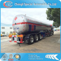 CLW semi trailer lpg truck,tri-axle LPG transport trailer for sale