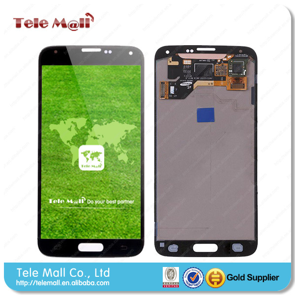China manufacturer supply lcd display mobile phone spare parts for samsung galaxy s5 lcd