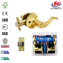 Polished Brass Prelude Privacy Door Lever Lock Set