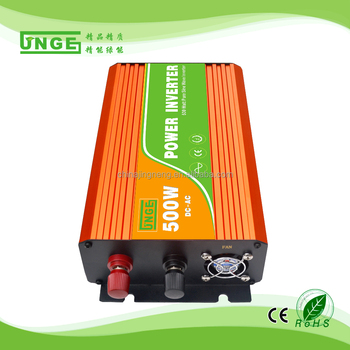 good quality 500w off-grid high frequency solar electric hybrid pure sine wave inverter 12v 24v 48v 96v input