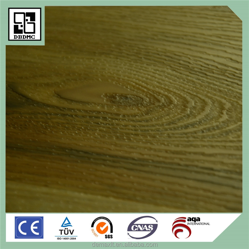 100% Virgin PVC Flooring Click Recycled DIY Plastic Flooring