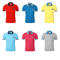 Custom t shirt printing promotional t shirts with your logo design polo shirt