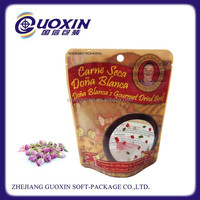 mix nuts and dry fruit packaging standing bag with zipper
