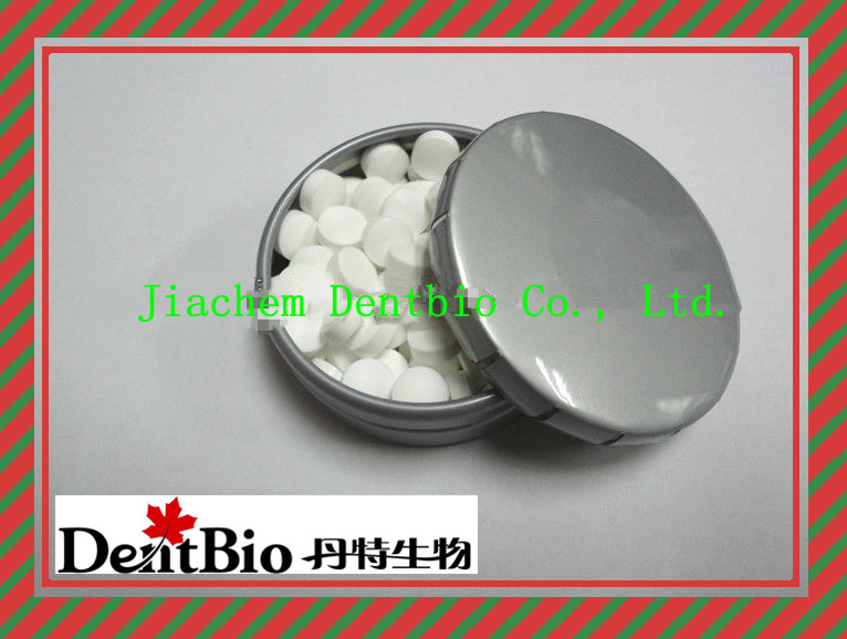 OEM 100% xylitol mints brands in tin can xylitol mint candy