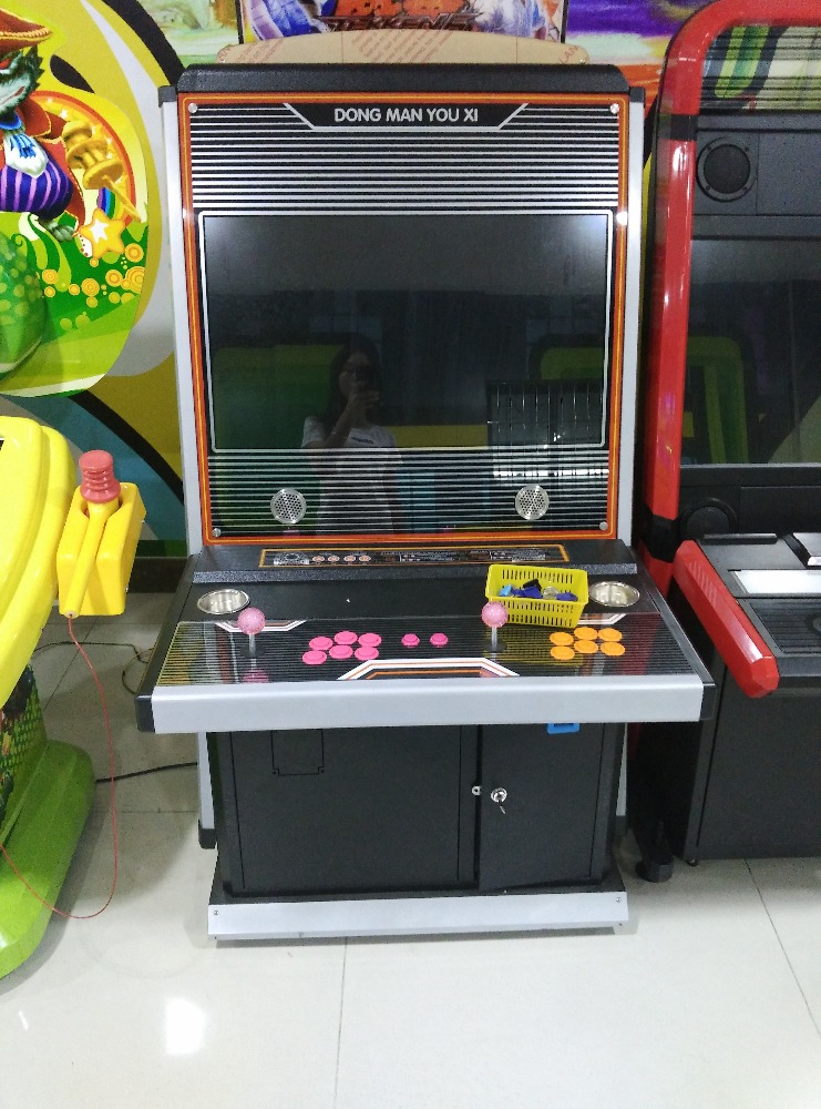 Mantong high quality street fighter 4 fighting game machine arcade games for sale