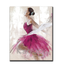 Ballet Dancer Canvas Painting Wall Art
