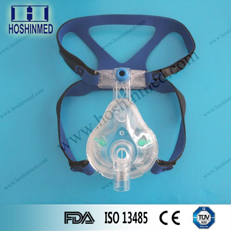 High Quality Safety Full Face Mask CPAP Full Face Mask With Headgear