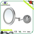 popular round led light bathroom cosmetic mirror