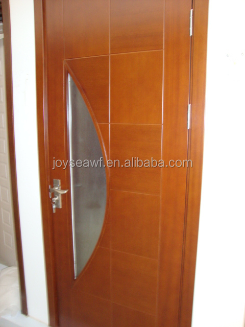 Glass decorative Melamine paper door skin
