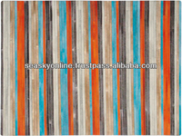 cowhide patchwork rugs modern design