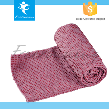 Custom logo Microfiber Fabric Freerunning Yoga Wholesales Towel
