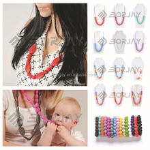 Food Grade Silicone Mom Gift Teething Necklace For The Best Choose