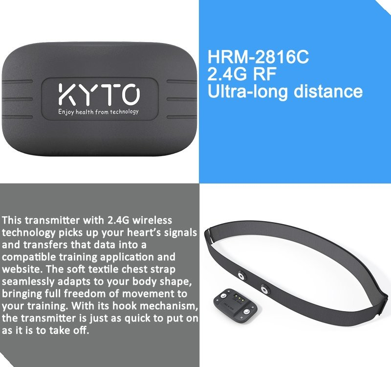 KYTO original coach training gym group team use heart rate monitor