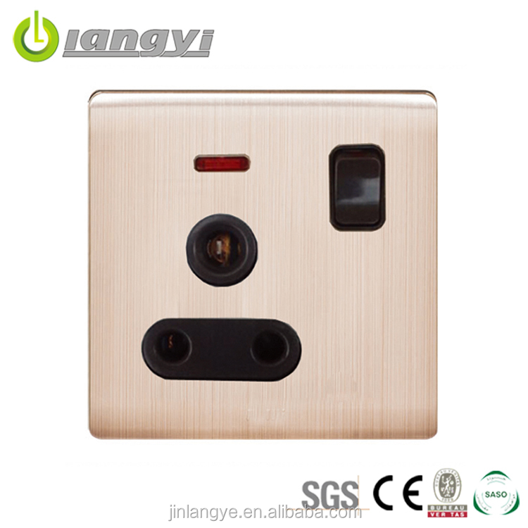 Newest Style Colorful Professional Design Residential Electric 250V Electric Socket Wholesale