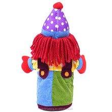 Clown Shape Kids Toy Hand Glove Puppet Hand Puppet Finger Sack Hand Dolls Plush