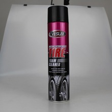 car polish type spray can foam tire shining and polishing tire foam protectant