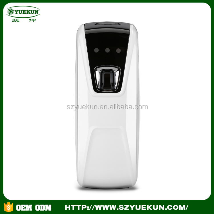 China manufacturer new design sensor spray fragrance machine wall mounted ABS plastic automatic aroma dispenser
