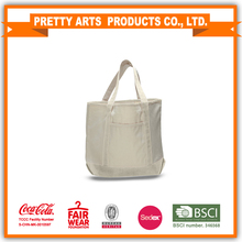 BSCI SEDEX Pillar 4 really factory Heavy Cotton Canvas Large Tote Bag