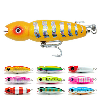 wholesale handmade popper wooden fishing lure