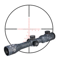 Compact tactical hunting airsoft rifle gun optic riflescopes TM4.5-18x40 rifle scope for air guns and weapons