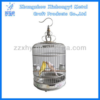 Colorful Fashion Stainless Steel Bird Cage