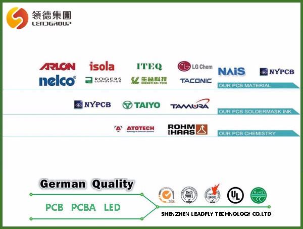 OEM PCB/PCBA manufacturer multilayer lcd tv / lcd monitor pcb board