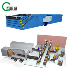 Materials Transportation retractable flexible truck unloading equipment belt conveyor