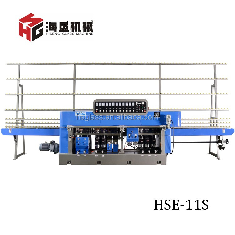 HSE-11S Mobile Tempered Glass Making Machine is One of Indispensable Equipment For Glass Procession.