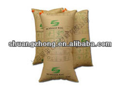 brown high quality kraft paper dunnage air bag for container manufacture directly