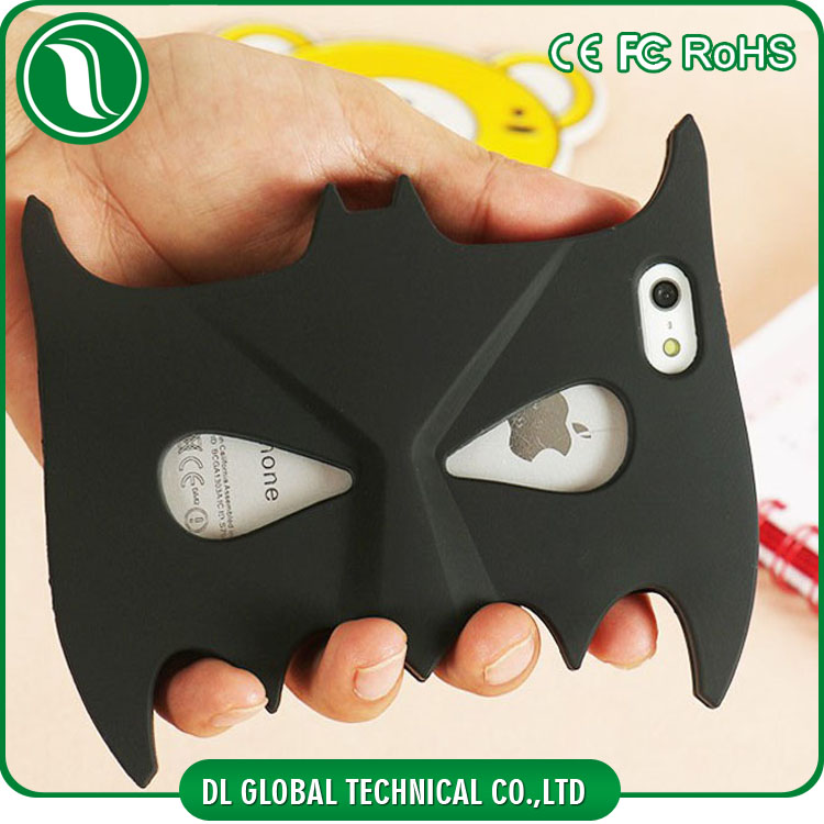 phone accessory silicone batman face mask mobile covers for iphone 6 case Batman Face Mask Silicon Gel Rubber mobile covers