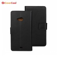 Flip Wallet Leather Case Phone Cover for Microsoft Lumia 535 with Credit Card Holder Couqe Etui Fundas Carcasas Capa