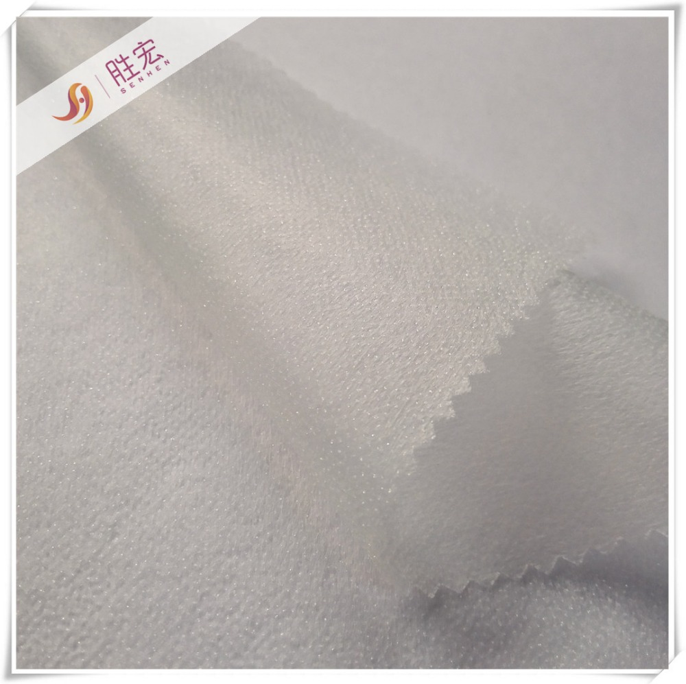 100%polyester non woven fusible interlining