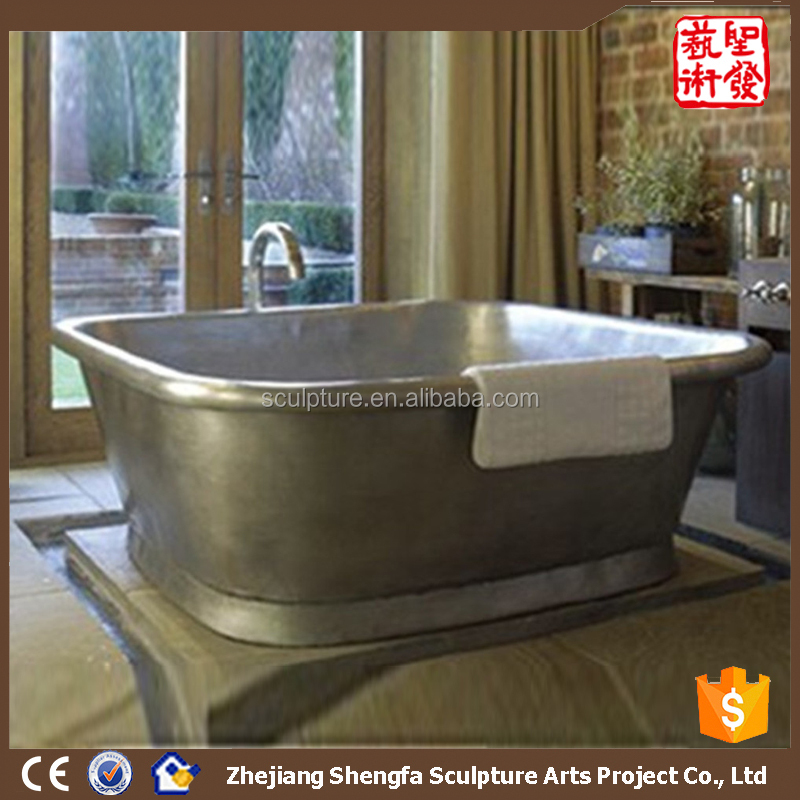 Hot Hotel Decoration hand made copper bathtub