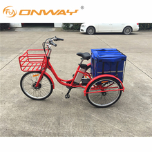 New Design Cheap 36V250W Front Motor Electric Tricycle China Manufacturer