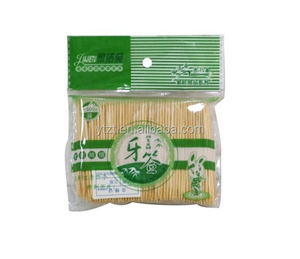 2 points nature bamboo tooth pick