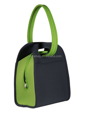 Custom print kids thermal neoprene lunch bag/hot sale eco lunch tote bag