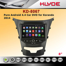 3G WIFI RDS DVB-T HD 1024*600 android 4.4.2 car dvd player radio gps para <span class=keywords><strong>NUEVA</strong></span> <span class=keywords><strong>Korando</strong></span> 2014