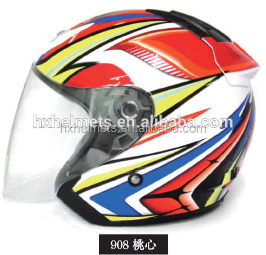 Stylish Open Face Motorcycle Helmet 908 With ECE Certificated