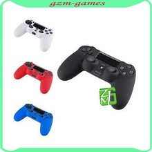 Soft Silicone Rubber Skin Case Cover For PlayStation 4 PS4 Controllers Case Thumbstick For JoyStick