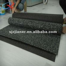 2012 hot indoor roll rubber flooring