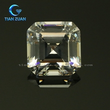 Hot sell cubic zirconia White square CZ Synthetic diamond