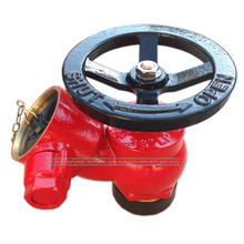 "2.5"" BS336 Screwed Fire Hydrant Landing Valve with Cap"