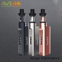 Alibaba Express Wholesale Kanger Upgraded SUBOX Mini-C Vape Kit Newest Subox Mini C With Protank 5