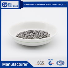 AISI 304 201 Flying saucer/Grinding stainless steel ball by china factory