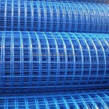 2X2 PVC Coated Welded Mesh / Plastic Square Welded Wire Mesh