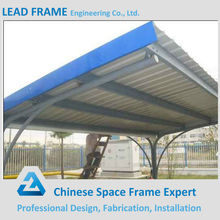 Solid Steel Structure Prefabricate Metal Roof Canopy